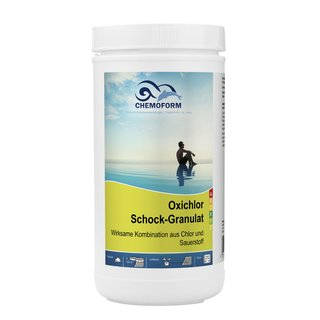 Oxi Chlor Schockgranulat, 1 kg (Pool Akut)