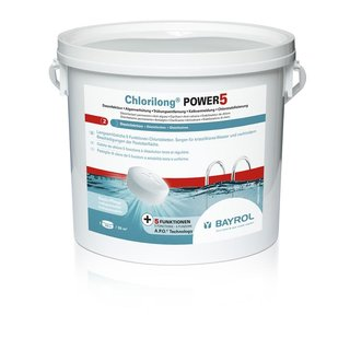 Chlorilong Power 5 - Multifunktions-Chlortablette 250 g 5 kg